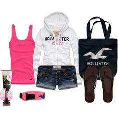 Hollister outfit on polyvore