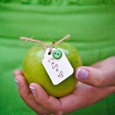Apple bonbonniere