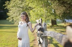 Rustic Country Themed Maternity Photography Session