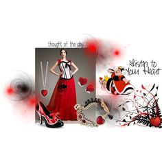 Queen of heart! by alleygrl on Polyvore
