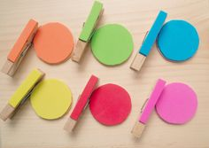 Montessori style color matching activity set for by APaperMemory, $6.00