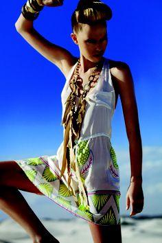 Tazama Dress by @Lalesso #ecofashion #ethicalfashion