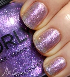 Orly Pixie Powder nail polish swatch 500x548 Orly Surreal Fall 2013 Nail Polish Swatches & Review