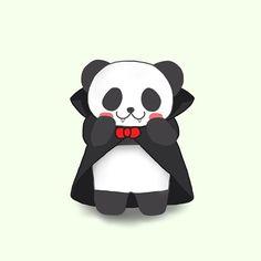 Trick or Treat  #trick #treat #trickortreat #dracula #panda #pandakuma #halloween