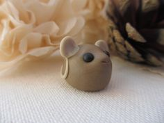 Mouse British wildlife polymer clay miniature