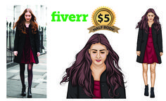 I will draw realistic cartoon portrait for you . . . . . . #vectorize #logovector #highresolution #redraw #vectorise #vectorlogo #vectortrace #vectortracing #converttovector #jpgtovector #vectorizelogo #illustrate #redraw #vectorart #vector #illustration #faceswap #photoretouching #photoshopediting #photoshop #photoshopwork #backgroundremoval #imageediting #cutout #colorcorrection #photoediting #vectorportrait #illustration #portraitcartoon #sktching Portrait Cartoon, Vector Portrait, Jpg To Vector, Vector Art, Image Editing, Photo Editing, Vector Converter, Realistic Cartoons, T Race