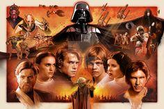 Faces:  Star Wars Saga by SteveAndersonDesign.deviantart.com on @DeviantArt