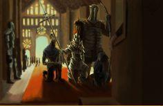 Dark Souls,фэндомы,DS art,DS персонажи,Artorias The Abysswalker,Hawkeye Gough,Lord's Blade Ciaran,Dragon slayer Ornstein