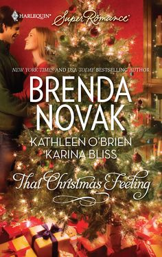 Brenda Novak's THAT CHRISTMAS FEELING: A DUNDEE CHRISTMAS. A woman seeking refuge in a strange town during a snowstorm is taken in by a man who helps her discover that home is where the love is.  A Harlequin Superromance Anthology with Brenda Novak, Kathleen O'Brien and Karina Bliss.