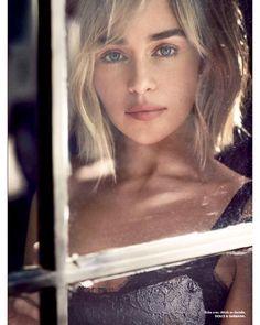 "Emilia Clarke on Instagram: ""Emilia for Elle Magazine (November 2018 issue) ❤️"""