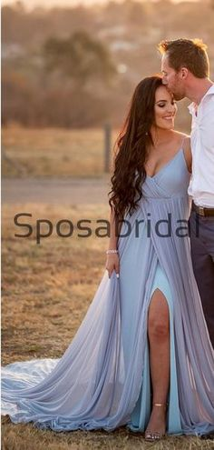 A-line Chiffon Simple Unique Beach Wedding Dresses WD0534  #weddingdresses #weddingdress #bridalgown #weding #bridaldress #laceweddingdress #fashion #Ballgown #Country #boho #Princess #modest Pretty Wedding Dresses, Country Wedding Dresses, Bridal Dresses, Bridesmaid Dresses, Prom Dresses, Formal Dresses, Wedding Dressses, Wedding Gowns, Dress Backs