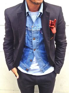 #NorajukuStylist Picks: A classic casual look combined with urban style. - Men's Fashion