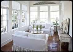 Lovely sun room....