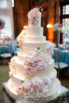 .  Wedding Cake ~  #weddingcakes , #weddings