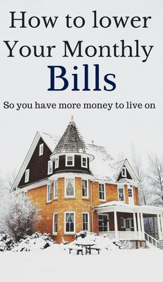 Lower monthly bills | household bills | Home bills | cut cable | lower electric bills | home bills