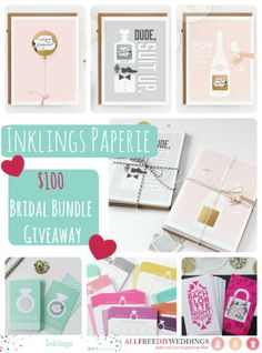 Inklings Paperie's $100 eGift Card Giveaway! Enter now!