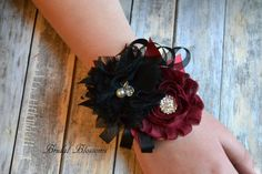 BEST SELLER Beautiful Soft Black & by BridalBlossomsShoppe on Etsy