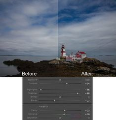 Simple way to add pop to landscape photos in Lightroom using 6 basic sliders.