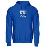 F.U. sweatshirt.  Wouldn't you think the bright minds at this school of higher learning would have seen the problem with this name for the school.