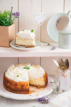 Classic Lemon Cheesecake | Laura Adani