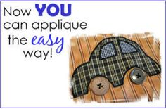 NewsletterSubscriber Bundle: How to Applique the Easy Way | YouCanMakeThis.com