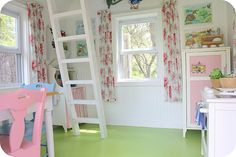Playhouse living room...what little girl wouldn't LOVE this!!