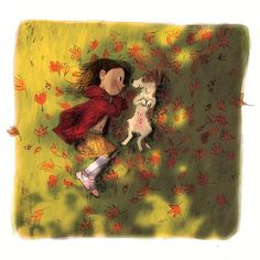 Autumn leaves  #kidlit #kidlitart #kidlitillustration #childrensliterature #childrensillustration #illustration #illustratorsoninstagram #jackrussell #jackrussellterrier #jackrussellsofinstagram #jackrussellpuppy #artistsoninstagram #autumn17 #autumnequinox #autumn #autumn #autumnleaves #autumnlight #fall #fallleaves #fallfoliage #fallweather #puppy #dog #childanddog #girlanddog