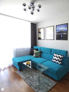 Salon styl Nowoczesny - zdjęcie od Interiori Pracownia Architektury Wnętrz