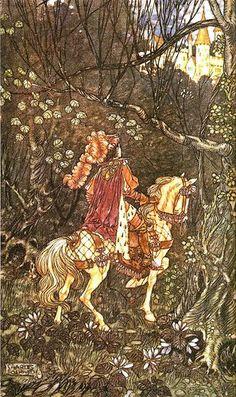 Briar Rose by Charles Folkard