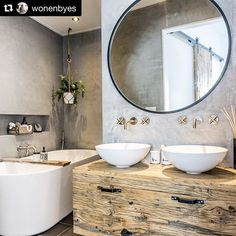 [New] The 10 Best Home Decor (with Pictures) - Reposted from - Bathroom Goals? Tag Your Friends Whod Love This Design! Credits to designer (DM to inform) .
