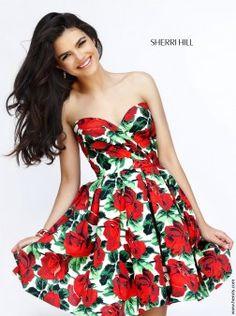 Sherri Hill 50028 | Find this 2016 short prom dress at www.henris.com