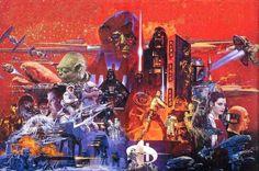 Star Wars: The Empire Strikes Back Artist Unknown