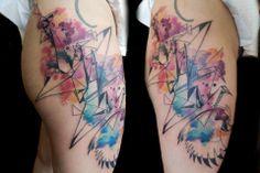 Stunning tattoos by Petra Hlavockova
