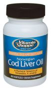Norwegian Cod Liver Oil - Buy Norwegian Cod Liver Oil 100 Softgels at the Vitamin Shoppe