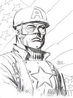 Captain America by David Finch *