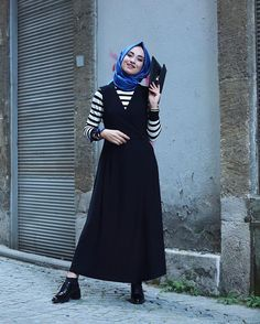 Islamic Fashion, Muslim Fashion, Modest Fashion, Girl Fashion, Fashion Outfits, Fashion Design, Hijab Style, Hijab Chic, Casual Hijab Outfit