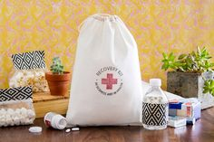 Large Recovery Kit Bags  Set of 10 Recovery Kit by becollective, $20.00