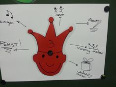 Brainstormen met de peuters.