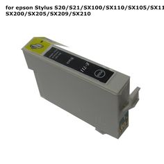 10pcs T0711 71 Black compatible ink cartridge For EPSON Stylus S20 S21 SX100 SX110 SX105 SX115 SX200 SX205 SX209 SX210 printer