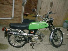 Honda ss50, 5 speed - had one of these, rode it from London to North Wales once, in a day.