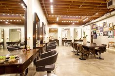 The Ultimate Guide To L.A. Hair Salons #refinery29  http://www.refinery29.com/los-angeles-hair-salon-guide#slide-1  Benjamin With Negin Zand Formerly known as Salon Benjamin, Benjamin Mohapi's Melrose salon recently got a name change, thanks to renowned colorist Negin Zand coming aboard. The impeccably designed space might be one of the coolest salons we've ever been to. It's tastefully stylish without that old-school, uptight salon mentality. You'll leave with a look you really love, ...