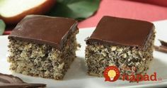 Okusi jeseni: Kolač od maka i jabuka Kolaci I Torte, Croatian Recipes, Russian Recipes, Breakfast Cake, Sweet Cakes, Sweet Treats, Dessert Recipes, Food And Drink, Cooking Recipes