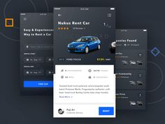 Hello everyone,  Today, I try to explore for car rental app.  Feedbacks are welcome :) Thanks!  Available for hire pujiarisetiawan48@gmail.com / Skype : pujiarisetiawan