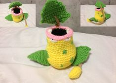 Amigurumi Pokemon - Victreebel by Caterpillor