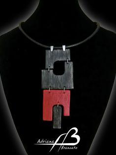 Colgante Geometrías by Adriana Brancato (Necklace)