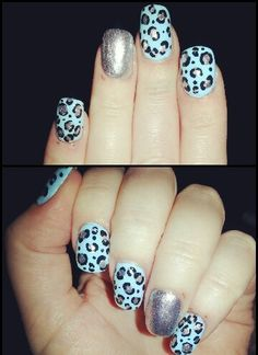 Loving the leopard nails