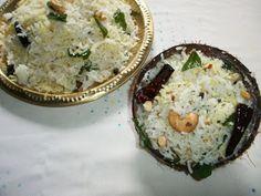 YUMMY TUMMY: Coconut Rice / Thengai Sadam - A South Indian Favorite