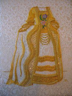 Goldwork by Certificate student Alessandra Marcellan, Royal School of Needlework