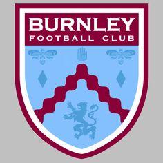 Der Club, British Football, Fifa, Burnley, Football Team, Badge, Branding Design, Soccer, Sports Logos