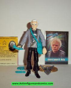 Star Trek ADMIRAL LEONARD McCOY playmates complete 1993 action figures